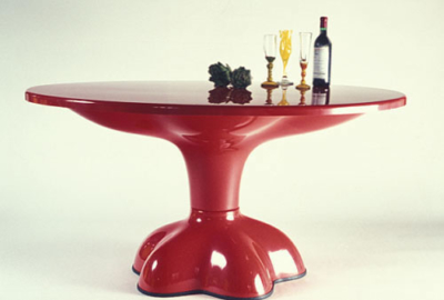 Molar Dining Table by Wendell Castle
