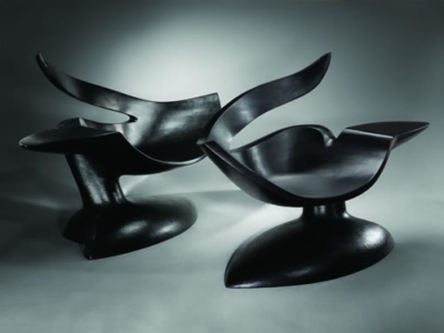 Nichthawk Chairs by Wendell Castle