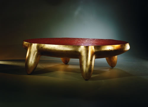 Triad Table by Wendell Castle
